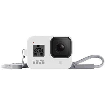GoPro Sleeve + Lanyard (HERO8 Black) bílý (AJSST-002)