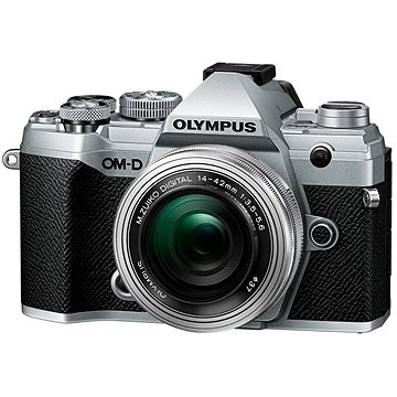 Olympus OM-D E-M5 Mark III + 14-42 mm EZ stříbrný (V207090SE030)
