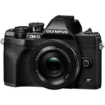 Olympus OM-D E-M10 Mark IV + ED 14-42 mm f/3.5-5.6 EZ černý (V207132BE000)