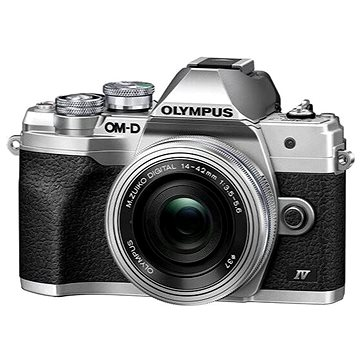 Olympus OM-D E-M10 Mark IV + ED 14-42 mm f/3.5-5.6 EZ stříbrný (V207132SE000)