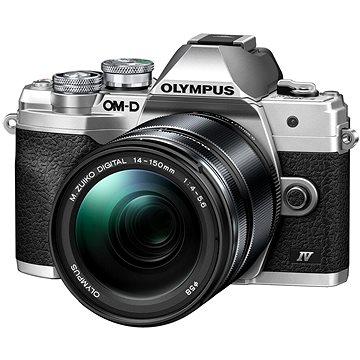 Olympus OM-D E-M10 Mark IV + 14-150 mm II stříbrný (V207133SE000)