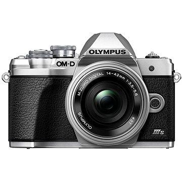 Olympus OM-D E-M10 Mark III S + ED 14-42 mm f/3.5-5.6 EZ stříbrný (V207112SE000)