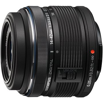 M.ZUIKO DIGITAL 14-42mm f/3.5-5.6 II R black (V314050BE000)