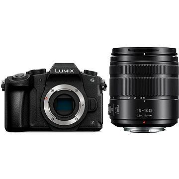 Panasonic LUMIX DMC-G80 + objektiv 14-140mm (DMC-G80HEG-K)