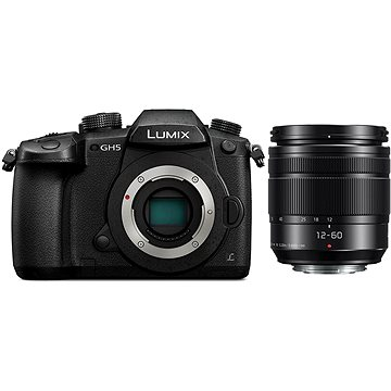 Panasonic LUMIX DC-GH5 + Lumix G Vario 12-60mm f/3.5-5.6 ASPH (DC-GH5MEG-K)