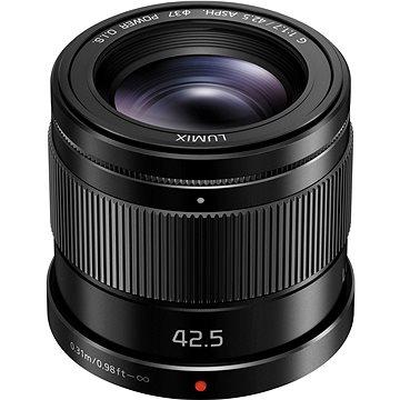 Panasonic Lumix 42,5 mm f/1.7 ASPH Power OIS černý (H-HS043E-K)