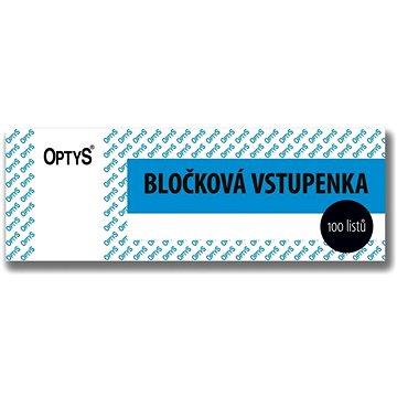 OPTYS 1267 Bločková vstupenka (1267)