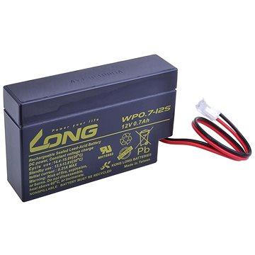 Long 12V 0.7Ah olověný akumulátor JST (WP0.7-12S) (PBLO-12V000,7-JST)
