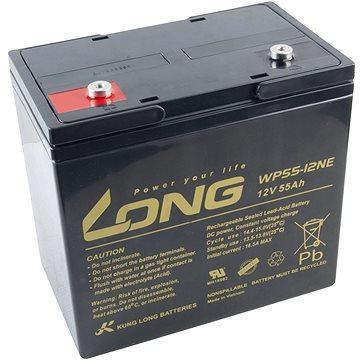 Long 12V 55Ah olověný akumulátor DeepCycle AGM M6 (WP55-12NE) (PBLO-12V055-F8AD)