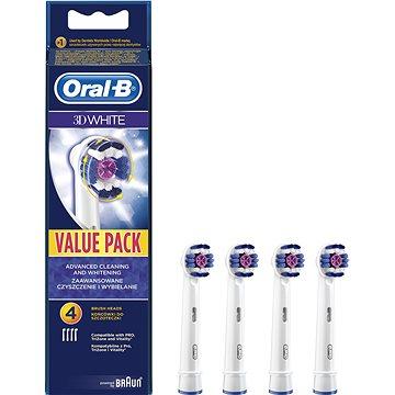 Oral-B náhradní hlavice 3D White 4ks (4210201094562)