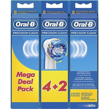 Oral-B náhradní hlavice Precision clean 6ks (4210201031666)