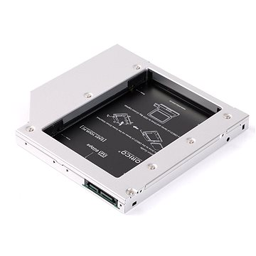 """ORICO 2.5"""" HDD/SSD caddy for laptops 9.5mm (L95SS-SV-BP)"""