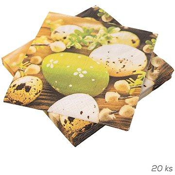 ORION Ubrousek papír Velikonoční vajíčka 20 ks 33x33 cm (841881)