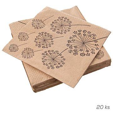 ORION Ubrousek papír Pampelišky 20 ks 33x33 cm (841883)