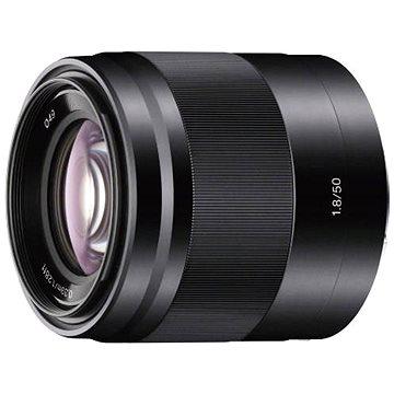 Sony 50mm f/1.8 černý (SEL50F18B.AE)