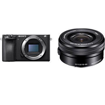 Sony Alpha A6400 + 16-50mm černá (ILCE6400LB.CEC)