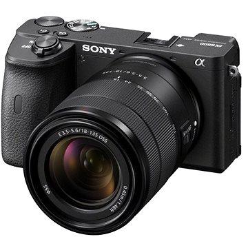 Sony Alpha A6600 černý + 18-135mm OSS SEL (ILCE6600MB.CEC)