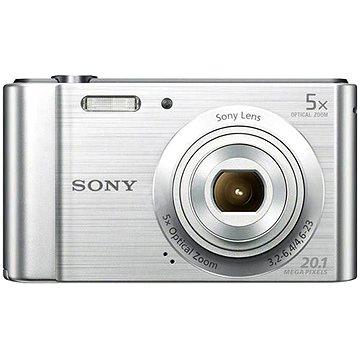 Sony CyberShot DSC-W800 stříbrný (DSCW800S.CE3)