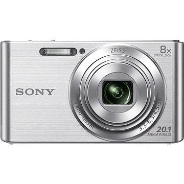 Sony CyberShot DSC-W830 stříbrný (DSCW830S.CE3)