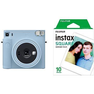 Fujifilm Instax Square SQ1 světle modrý + 10x fotopapír (70100148678)