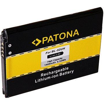PATONA pro LG D280 1400mAh 3.8V Li-Ion BL-52UH (PT3150)