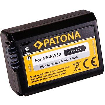 PATONA pro Sony NP-FW50 950 mAh/6.8Wh/7.2V Li-Ion (PT1079)