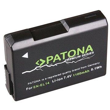 PATONA pro Nikon EN-EL14 1100mAh Li-Ion Premium (PT1197)