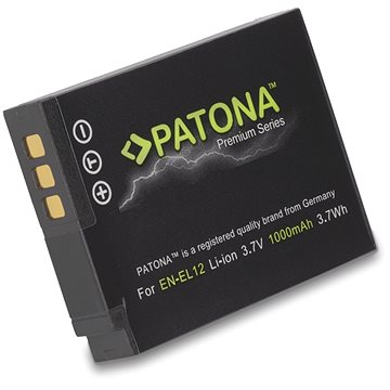PATONA pro Nikon EN-EL12 1000mAh Li-Ion Premium (PT1168)
