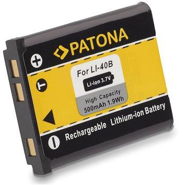 PATONA pro Olympus Li-40B / Li-42B 500mAh Li-Ion (PT1031)