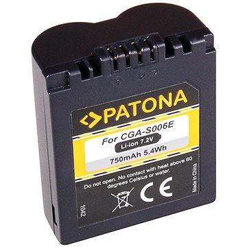 PATONA pro Panasonic CGA-S006E 750mAh Li-Ion (PT1042)