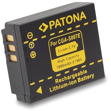 PATONA pro Panasonic CGA-S007E Li-Ion 1000mAh Li-Ion (PT1043)