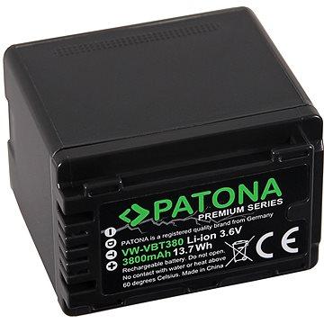 PATONA pro Panasonic VW-VBT380 3800mAh Li-Ion Premium (PT1257)