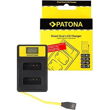 PATONA pro Dual Canon LP-E12 s LCD,USB (PT141652)
