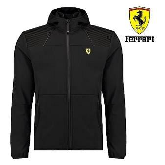 SCUDERIA FERRARI Ferrari pánská soft. bunda černá  L (9373-L)