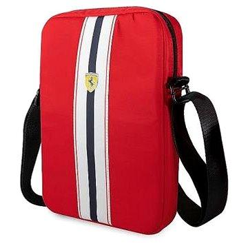 SCUDERIA FERRARI|Ferrari Taška na tablet bílé pruhy RED| (11166-0)