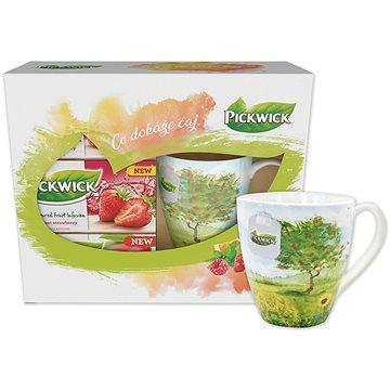 Pickwick dárkové balení ovocných čajů s hrnečkem LÉTO (8594196031044)