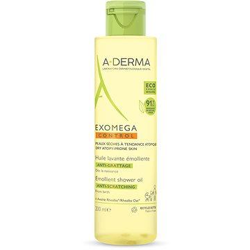 A-DERMA Exomega Control Zvláčňující sprchový olej pro suchou kůži se sklonem k atopii 200 ml (3282770143416)
