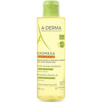 A-DERMA Exomega Control Zvláčňující sprchový olej pro suchou kůži se sklonem k atopii 500 ml (3282770143423)