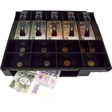 Virtuos plastový pořadač na peníze pro C4x0 (EKA9008)