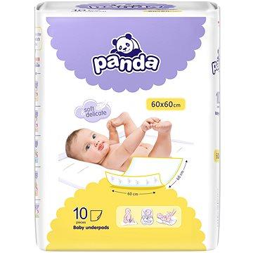 PANDA Přebalovací podložky 60 × 60 cm, 10 ks (5900516601546)