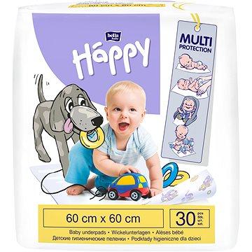 BELLA Baby Happy Dětské podložky 60 × 60 cm, 30 ks (5900516601676)