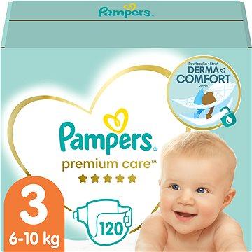 PAMPERS Premium Care Midi vel. 3 (120 ks) (4015400465461)