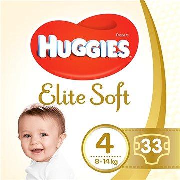 HUGGIES Elite Soft vel. 4 (33 ks) (5029053547787)