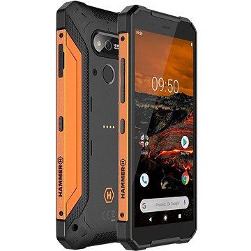 MyPhone Hammer Explorer oranžový (TELMYAHEXPLOOR)