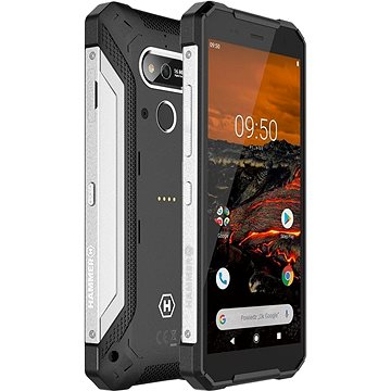 MyPhone Hammer Explorer stříbrný (TELMYAHEXPLOSI)
