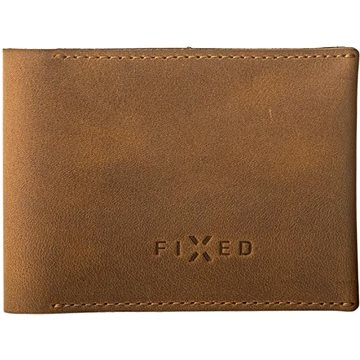 FIXED Smile Wallet se smart trackerem FIXED Smile a motion senzorem, hnědá (FIXSM-SMMW-BRW)
