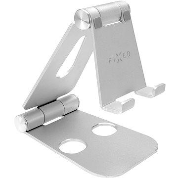 FIXED Frame Phone na stůl pro mobilní telefony stříbrný (FIXFR-PHO-SL)
