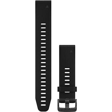 Garmin QuickFit 20 silikonový černý dlouhý (010-12739-07)