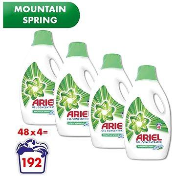 ARIEL Mountain Spring 4× 2,64 l (192 praní) (258001841117201)