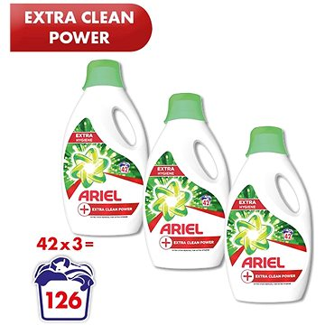 ARIEL Extra Clean Power 3× 2,31 l (126 praní) (248006540095379)